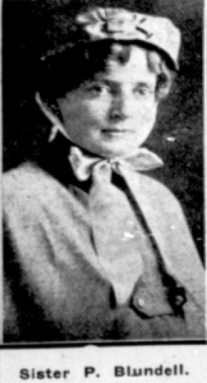 Patricia Madeline Blundell, Image from Table Talk magazine, May 1915.