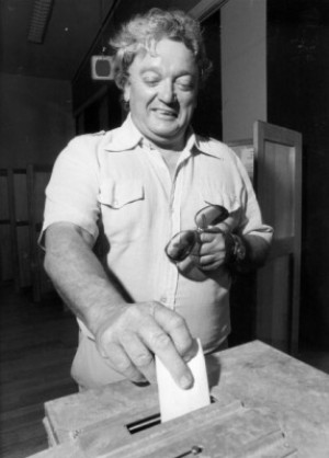 Jim Pead, 1978. Image from the ACT Heritage Library (003010).