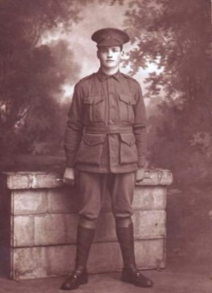 Bruiser Robertson (probably taken at Goulburn Camp). Image provided by the Robertson family.